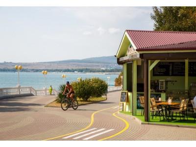 Приветливый берег  Геленджик   рестораны и кафе
